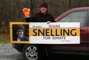 Senator Snelling Re-elected!