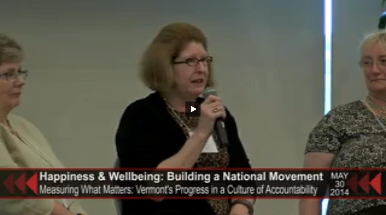 Measuring What Matters: Vermont's Progress in a Culture of Accountability